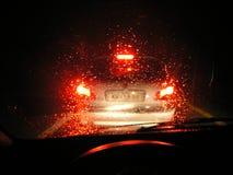 Lumières rouges Images stock