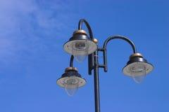 Lumières sur le ciel Images stock