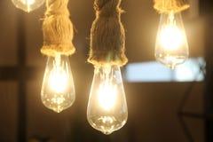 Lumières uniques simples images stock