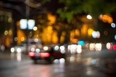 Lumières urbaines Photos libres de droits