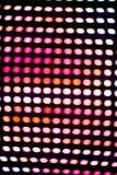 Lumi?res de disco Fond color? abstrait Fond de disco Scintillement et élégant pour Noël Concept magique disco photographie stock libre de droits