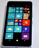 Lumia 640 της Nokia XL τηλέφωνο παραθύρων Στοκ Εικόνα