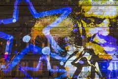 Lumiere伦敦-灯节 库存图片