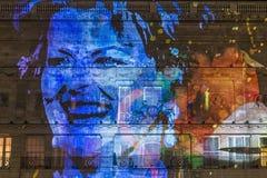 Lumiere Лондон - фестиваль огней Стоковые Изображения RF