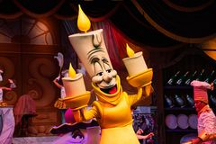 Free Lumiere Character From The Beauty And The Beast Royalty Free Stock Photos - 163230278