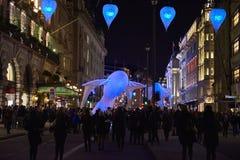 Lumiere Londen 2016 Stock Afbeeldingen