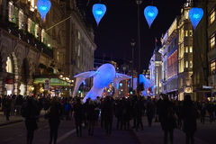 Lumiere London 2016 Stock Images