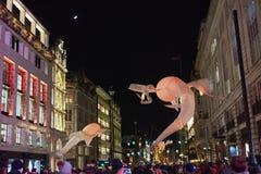 Lumiere Londres 2016 Imagem de Stock