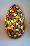 lumina jajko od różnorodnych szklanych czerepów szkło Obraz Stock