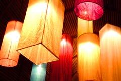Luminaire japonês Foto de Stock Royalty Free