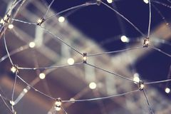 Luminaire web Royalty Free Stock Photography