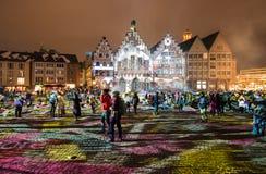 Luminale 2018, Frankfurt Royalty-vrije Stock Foto's