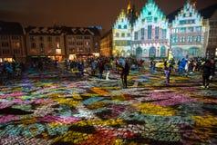 Luminale 2018, Frankfurt Royalty-vrije Stock Fotografie