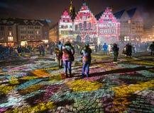 Luminale 2018, Frankfurt Royalty-vrije Stock Afbeelding