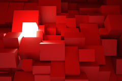 Luminant-Kasten Lizenzfreies Stockfoto