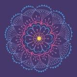 Luminant mandala Zdjęcie Royalty Free
