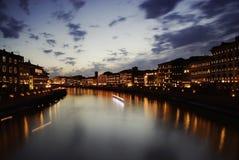 luminaria pisa Италии стоковое изображение