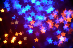 Luminarie star shape Royalty Free Stock Image