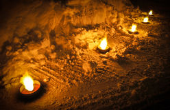 Luminaries Stock Photos