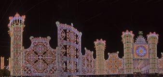 Luminary van de viering van heilige Zondag stock foto's