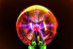 Luminescencyjna osocze piłka obraz stock