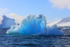 Luminescent iceberg Royalty Free Stock Images