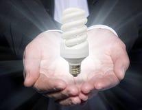 Luminescent lamp Stock Image
