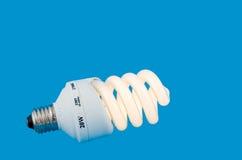 Lumineszierende energiesparende Lampe lizenzfreies stockfoto