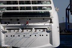 luminosità della nave da crociera del mare fotografie stock libere da diritti