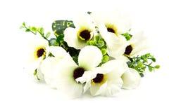Luminoso e bello del fiore di plastica Fotografia Stock