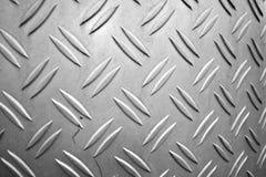 Luminoso graffiato zumato nocivo di piastra metallica Immagini Stock Libere da Diritti