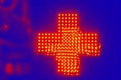 Luminoso hecho con las luces de neón brillantes verdes fluorescentes imagenes de archivo