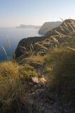 Luminoso na paisagem litoral Fotos de Stock Royalty Free