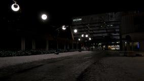 Luminothérapie, festival del DES del posto stock footage