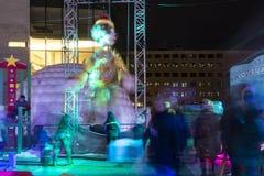 Luminotherapy στα φω'τα Montréal Στοκ φωτογραφία με δικαίωμα ελεύθερης χρήσης