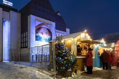Luminotherapy in Montréal stands Stock Photos
