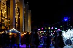 Luminotherapy in Montréal lights Stock Photos