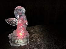 Translucent Angel figurine royalty free stock images