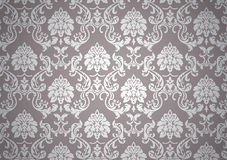 Luminous baroque wallpaper Royalty Free Stock Photos