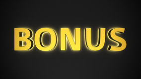 Luminous Bonus Stock Image
