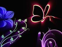 Luminous butterfly Royalty Free Stock Photo