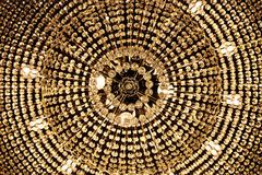Shiny chandelier background Royalty Free Stock Photos