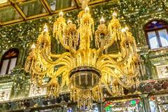Luminous Chandelier Golestan Palace Royalty Free Stock Photo