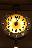 Luminous clock Stock Photo