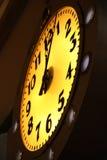 Luminous clock royalty free stock photos