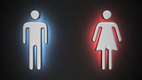 Luminous Couple Stock Image