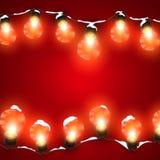 Luminous Electric Garland Royalty Free Stock Photo