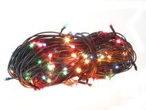 Luminous festoon. Royalty Free Stock Photo