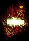 Luminous floral design Stock Photography
