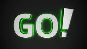 Luminous GO! Stock Image